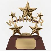 Winnaar Trofee 3d model