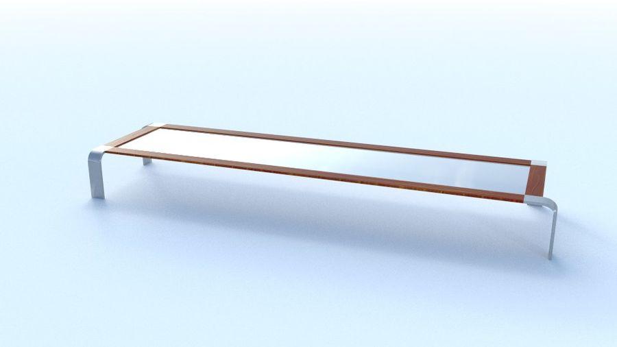 Tavolino moderno royalty-free 3d model - Preview no. 3