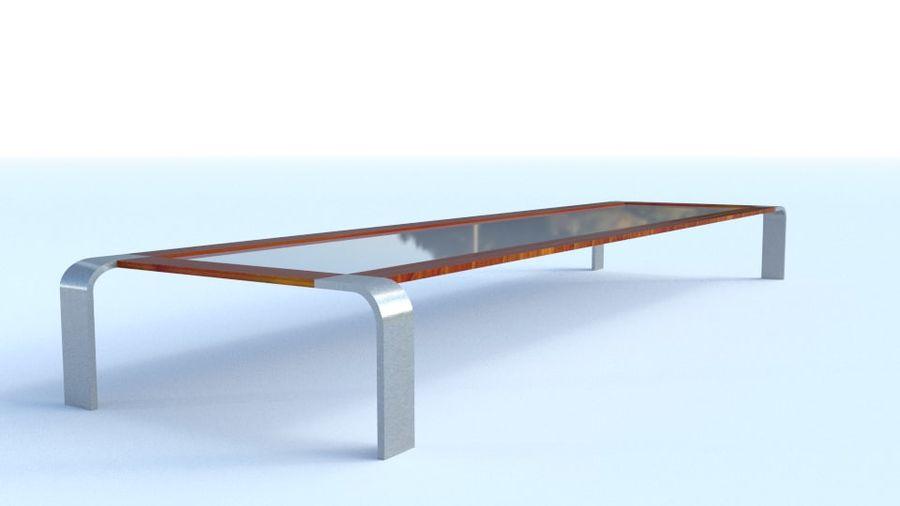 Tavolino moderno royalty-free 3d model - Preview no. 5