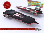 Pitbull Hoverboard de Griff Tannen 3d model