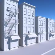 pacote de construção da cidade 3d model