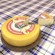 Rueda de queso modelo 3d