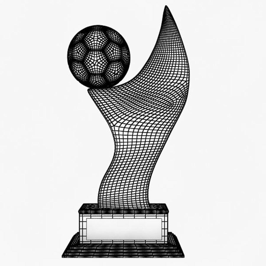 Futbol Kupası royalty-free 3d model - Preview no. 6