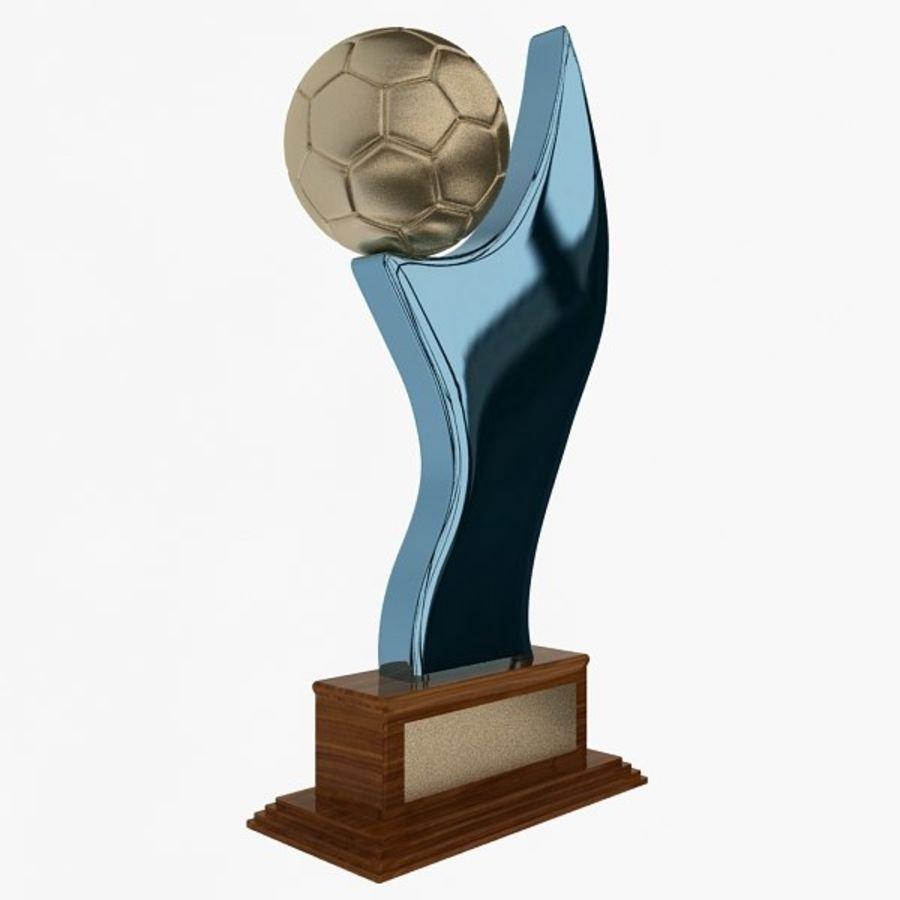 Futbol Kupası royalty-free 3d model - Preview no. 2