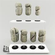 石材装饰 3d model