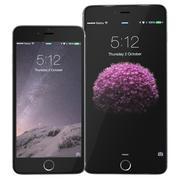 iPhone 6 e 6 mais conjunto spacegrey 3d model