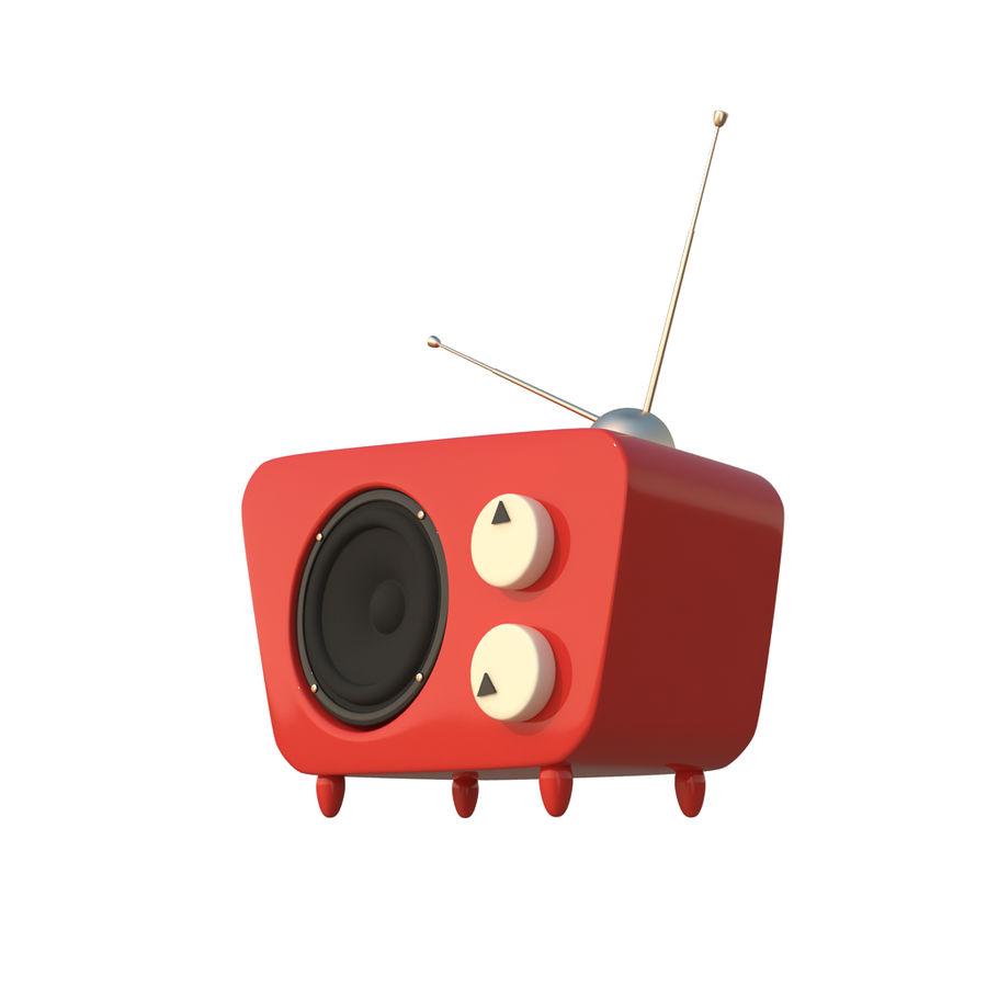 Cartoon Radio 3d Model 15 Fbx Obj Max Free3d