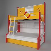 Cama para crianças 3d model