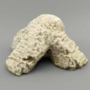 каменный крест 3d model