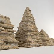 kamień piramidy 3d model