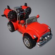 Turbo Jeep 3d model