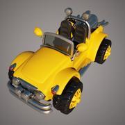 Brinquedo de jipe 3d model