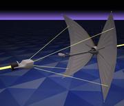 Tron zonneschip (1982) 3d model
