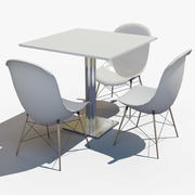 Table Chair(1) 3d model