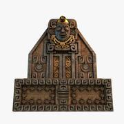 Altar asteca 3d model