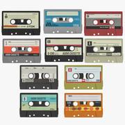 Audio Cassettes 3d model