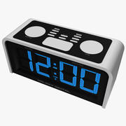 Basic Digital Alarm Clock 3d model