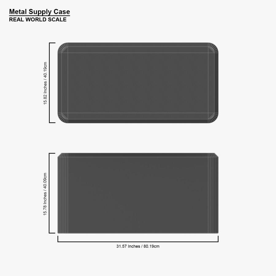 金属供应箱 royalty-free 3d model - Preview no. 17