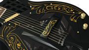 Krajowa gitara tricone 3d model