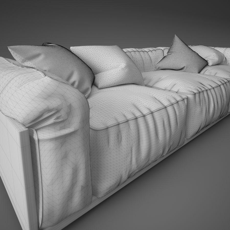 Sofa royalty-free 3d model - Preview no. 11