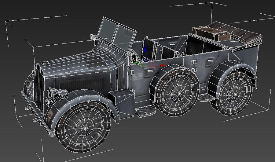901 Kfz.15 Car royalty-free 3d model - Preview no. 3