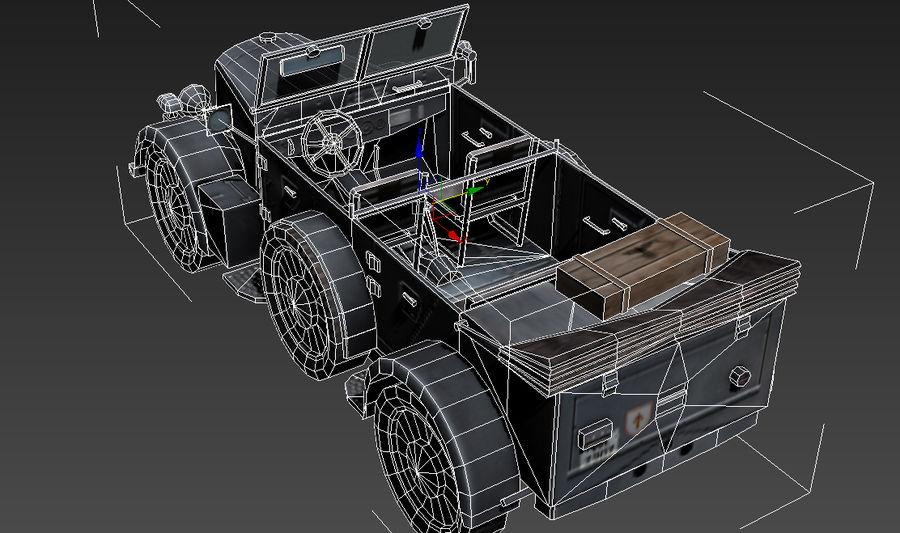 901 Kfz.15 Car royalty-free 3d model - Preview no. 4