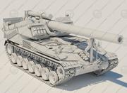 SAU_T92 - ВЫСОКАЯ ДЕТАЛИ 3d model