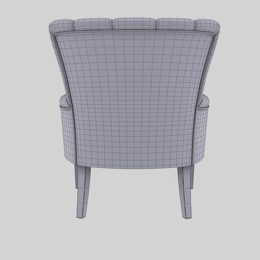 Armchair royalty-free 3d model - Preview no. 11