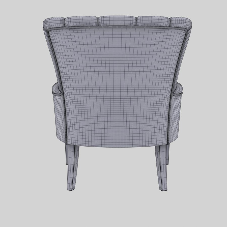 Armchair royalty-free 3d model - Preview no. 12