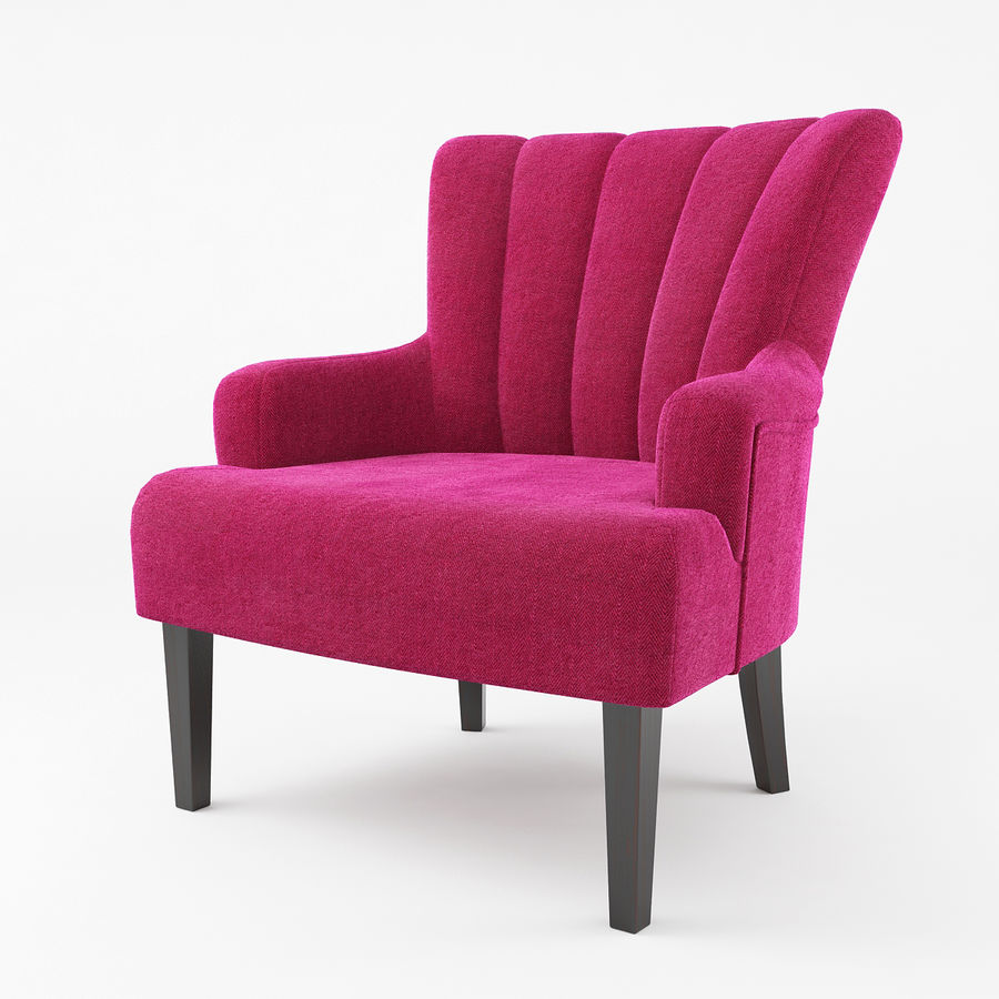 Armchair royalty-free 3d model - Preview no. 1