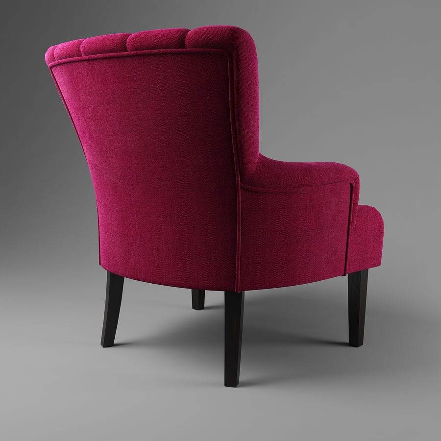 Sillón royalty-free modelo 3d - Preview no. 5
