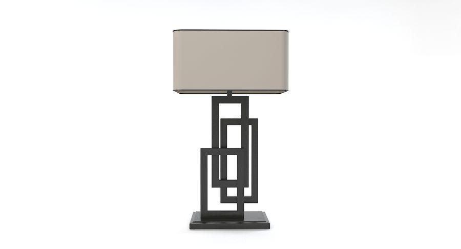 Güzel Sanatlar Lambaları EDGE TABLE Lamp royalty-free 3d model - Preview no. 2