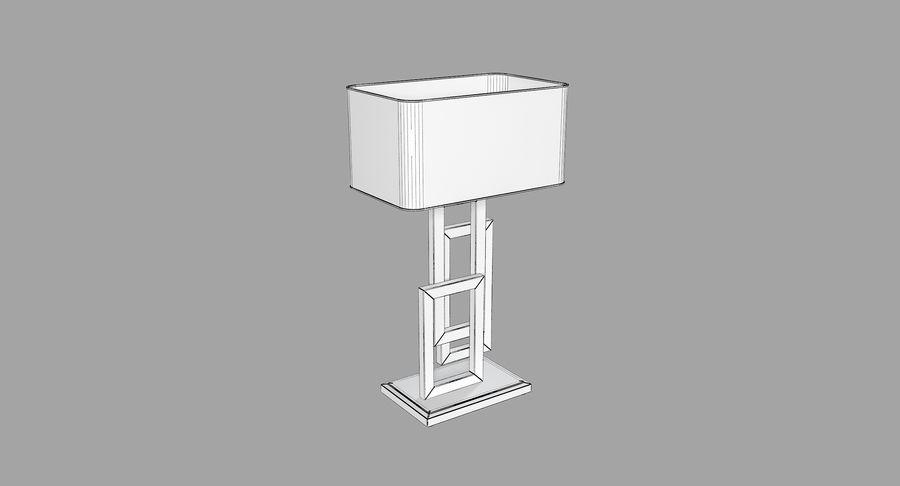Güzel Sanatlar Lambaları EDGE TABLE Lamp royalty-free 3d model - Preview no. 6