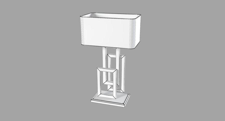 Güzel Sanatlar Lambaları EDGE TABLE Lamp royalty-free 3d model - Preview no. 5