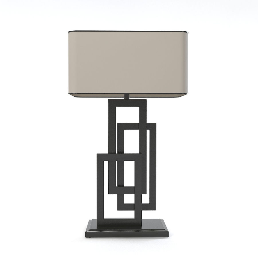 Güzel Sanatlar Lambaları EDGE TABLE Lamp royalty-free 3d model - Preview no. 1