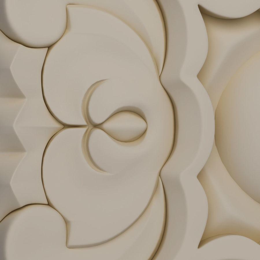 Elemento de arquitetura carving_01 royalty-free 3d model - Preview no. 7