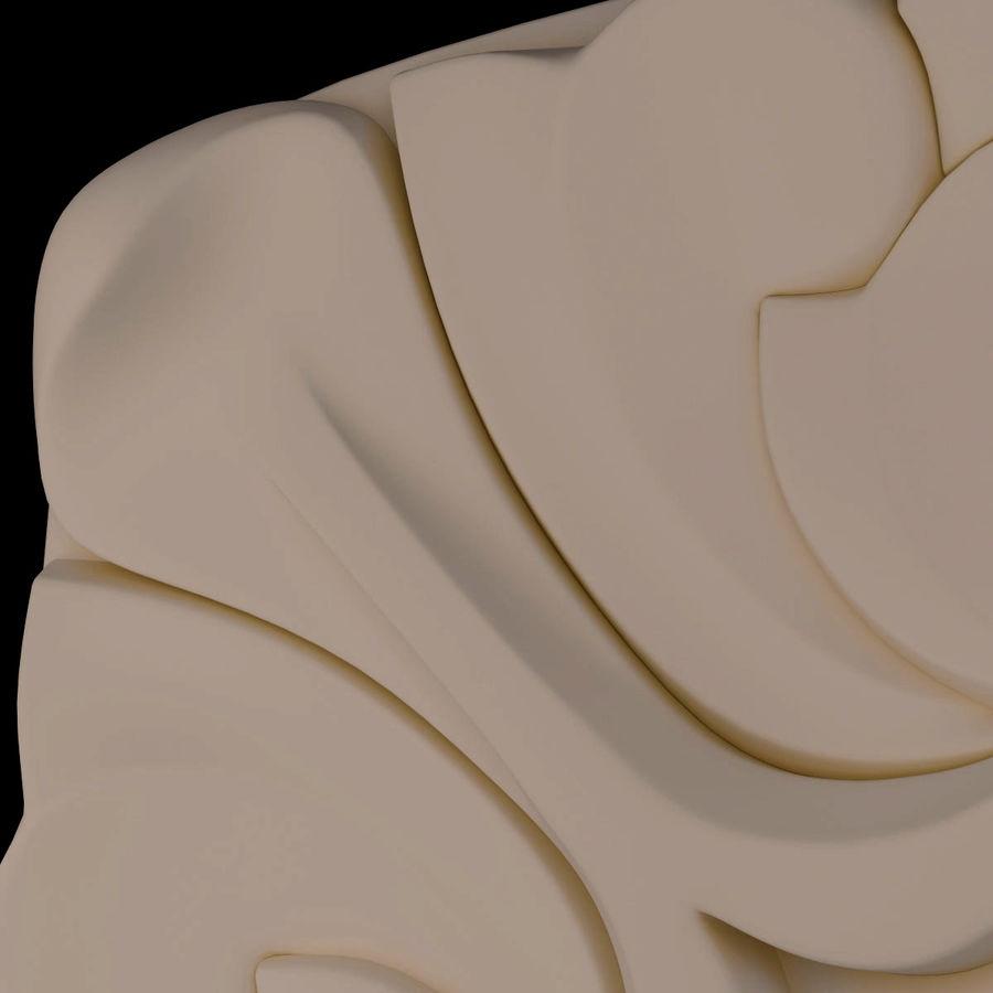 Elemento de arquitetura carving_01 royalty-free 3d model - Preview no. 8