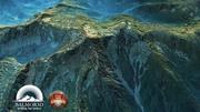 Trawiaste góry Europa Środkowa 02 3d model