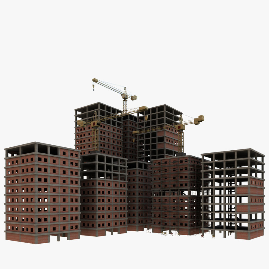 cantiere 2 royalty-free 3d model - Preview no. 1