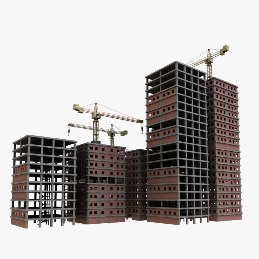 cantiere 2 royalty-free 3d model - Preview no. 4