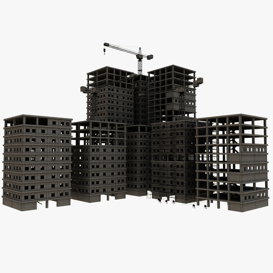 cantiere 2 royalty-free 3d model - Preview no. 11