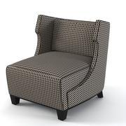 Fendi Casa Dorchester Chaise 3d model
