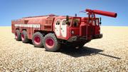 Russische brandweerwagen 3d model