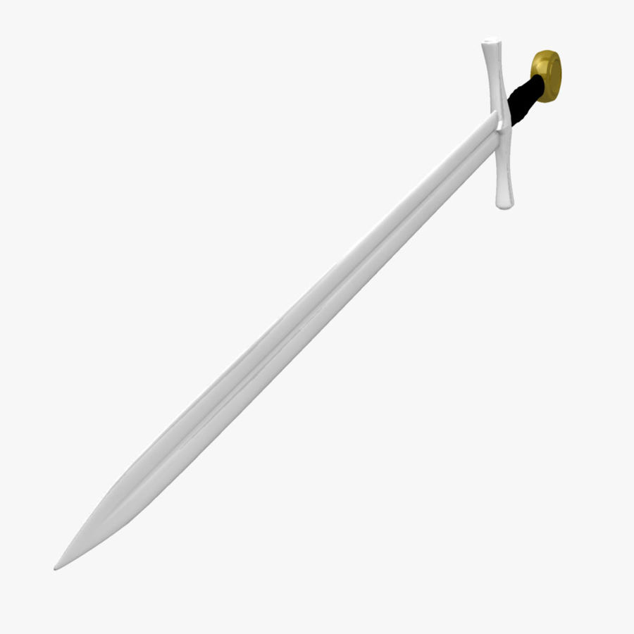 Two Edged Sword royalty-free 3d model - Preview no. 2
