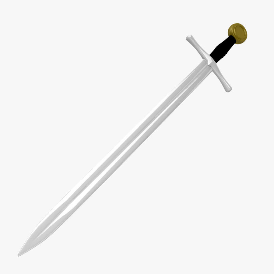 Two Edged Sword royalty-free 3d model - Preview no. 1