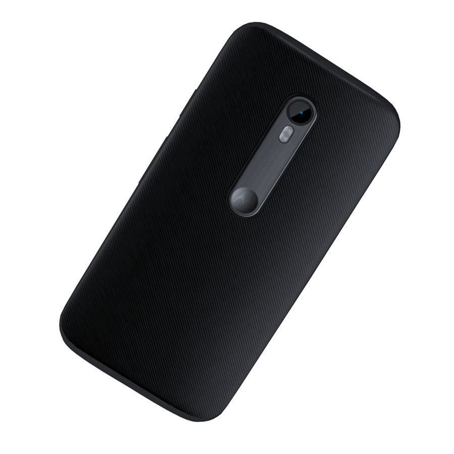 Motorola Moto G 3rd Gen royalty-free 3d model - Preview no. 5