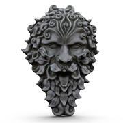 Stone Face 3d model