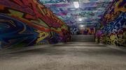 Graffiti Tunnel 3d model
