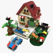Changing season House LEGO set 31038 3d model