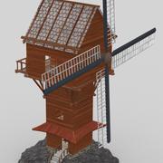 Väderkvarn 3d model